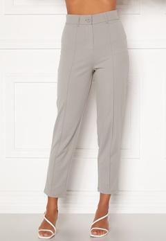BUBBLEROOM Peyton soft suit trousers Grey bubbleroom.fi