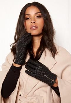 BUBBLEROOM Quinny guilted gloves Black Bubbleroom.fi
