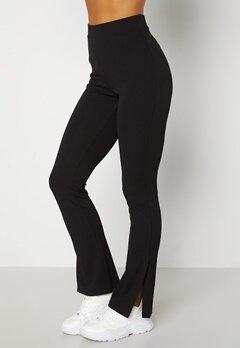 BUBBLEROOM Roselyn suit slit pants Black bubbleroom.fi