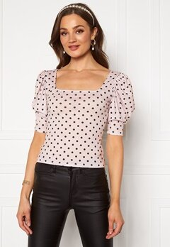BUBBLEROOM Sally printed top Dotted Bubbleroom.fi