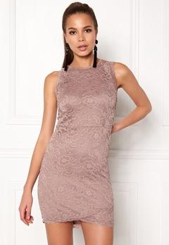 BUBBLEROOM Salma Lace Dress Dusty lilac Bubbleroom.fi