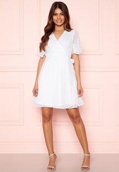 BUBBLEROOM Scarlette dotted dress White Bubbleroom.fi