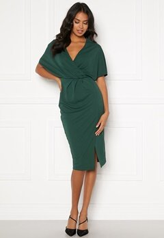 BUBBLEROOM Selena dress Dark green Bubbleroom.fi