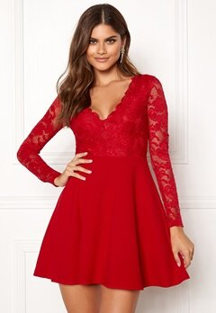 BUBBLEROOM Shelby dress Red bubbleroom.fi