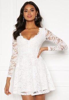 BUBBLEROOM Shione lace dress White Bubbleroom.fi