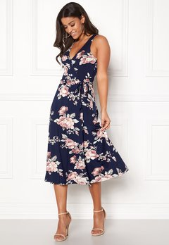 BUBBLEROOM Sibel dress Dark blue / Floral Bubbleroom.fi