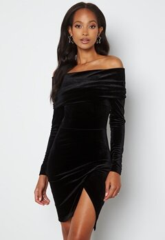 BUBBLEROOM Sofielle Velvet Dress Black bubbleroom.fi