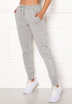 BUBBLEROOM SPORT Balance sweat pants Grey melange Bubbleroom.fi