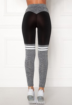 BUBBLEROOM SPORT Excite Sport Tights Black / Grey Bubbleroom.fi