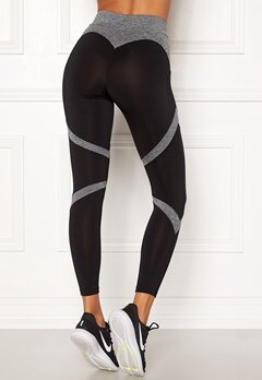 BUBBLEROOM SPORT Fierce Sport Tights Black / Grey Bubbleroom.fi