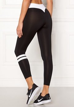 BUBBLEROOM SPORT Move it sport tights Black / White Bubbleroom.fi