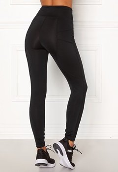 BUBBLEROOM SPORT Sculpture High waist Sport tights Black Bubbleroom.fi