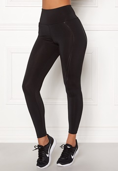 BUBBLEROOM SPORT Stronger than you sport tights Black Bubbleroom.fi