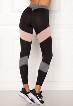 BUBBLEROOM SPORT Winners sport tights Black Bubbleroom.fi