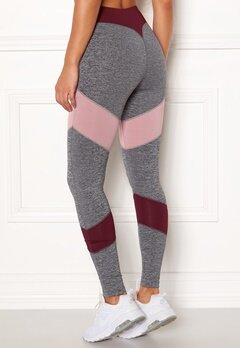 BUBBLEROOM SPORT Winners sport tights Dark grey melange Bubbleroom.fi