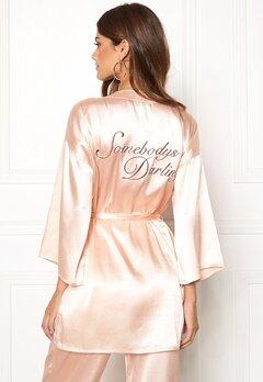 BUBBLEROOM Stephanie robe Champagne Bubbleroom.fi