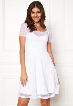 BUBBLEROOM Superior lace dress White Bubbleroom.fi