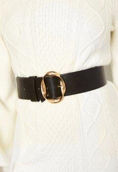 BUBBLEROOM Talia belt Black / Gold bubbleroom.fi