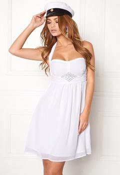 BUBBLEROOM Tiara glam dress White Bubbleroom.fi