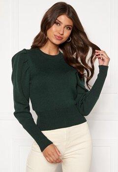 BUBBLEROOM Tua knitted sweater Dark green Bubbleroom.fi