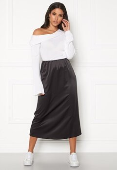 BUBBLEROOM Tyra skirt Black Bubbleroom.fi