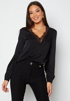 BUBBLEROOM Vallie lace blouse Black bubbleroom.fi