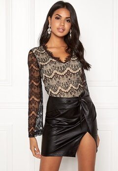 BUBBLEROOM Yvette lace body Black Bubbleroom.fi