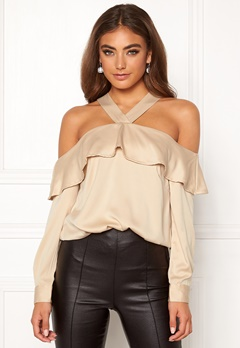 Moa Mattsson X Bubbleroom Buttoned off shoulder blouse  Bubbleroom.fi