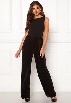 Moa Mattsson X Bubbleroom Pleated pants jumpsuit Black Bubbleroom.fi