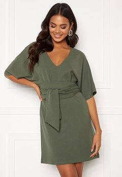 BUBBLEROOM Joelle dress Dusty green Bubbleroom.fi