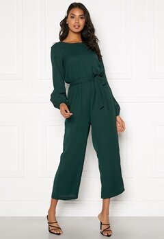 BUBBLEROOM Valorie jumpsuit Dark green Bubbleroom.fi