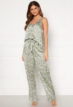 BUBBLEROOM Steph printed pyjama set Dusty green / Floral Bubbleroom.fi