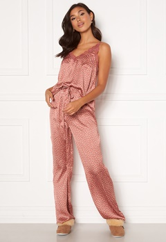 BUBBLEROOM Steph printed pyjama set Dusty pink / Dotted Bubbleroom.fi