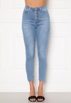 Trendyol Buttoned Front Jeans Mavi/Blue Bubbleroom.fi