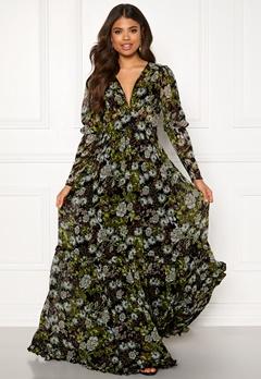 byTiMo Delicate Gown 907 Green Garden Bubbleroom.fi