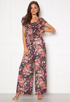 byTiMo Delicate Semi Jumpsuit Midnight Dream Bubbleroom.fi
