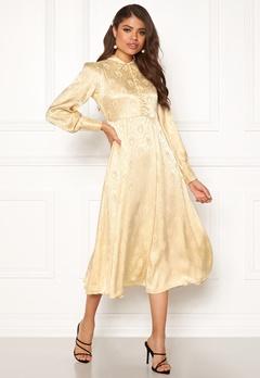byTiMo Jaquard Shirt Dress 342 Golden Bubbleroom.fi
