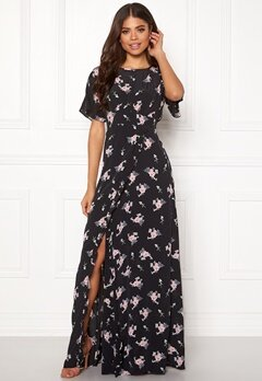 byTiMo Ruffle Wrap Gown 855 Small Bouquet Bubbleroom.fi
