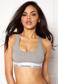 Calvin Klein CK Cotton Bralette 020 Grey Heather Bubbleroom.fi
