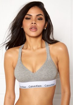 Calvin Klein CK Cotton Bralette Lift 020 Grey Heather Bubbleroom.fi
