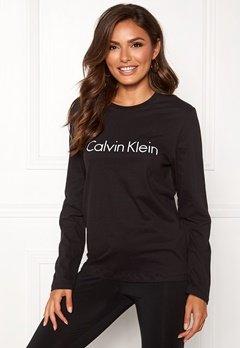 Calvin Klein CK L/S Crew Neck Black Bubbleroom.fi