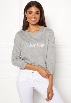 Calvin Klein CK L/S Crew Neck Grey Heather Bubbleroom.fi