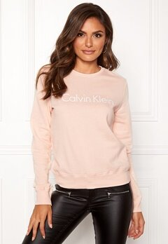 Calvin Klein CK L/S Sweatshirt Gold Blush Bubbleroom.fi