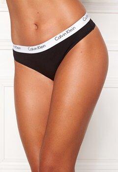 Calvin Klein CK One Cotton Thong Black Bubbleroom.fi