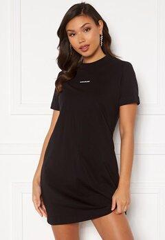 Calvin Klein Jeans Branding T-Shirt Dress Ck Black Bubbleroom.fi