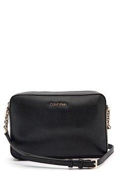 Calvin Klein Jeans Camera Bag Saffiano BAX Ck Black Bubbleroom.fi