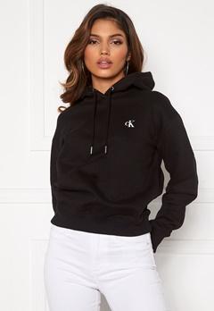 Calvin Klein Jeans CK Embroidery Hoodie BAE CK Black Bubbleroom.fi