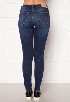 Calvin Klein Jeans CKJ 011 Mid Rise Skinny 1A4 ZZ001 MID BLUE Bubbleroom.fi