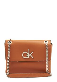 Calvin Klein Jeans Conv Flap Crossbody GCZ Roasted Pumpkin Bubbleroom.fi