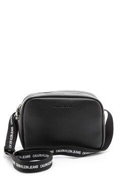 Calvin Klein Jeans Double Zip Camera Bag BDS Black Bubbleroom.fi